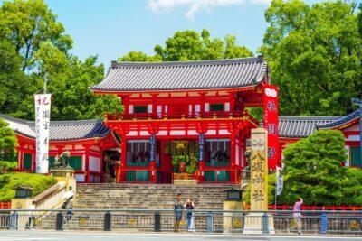 【初詣2022】京都八坂神社に屋台出店は?時間や期間はいつまで?